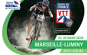 COUPE DE FRANCE - XCO #1 XCE #1  MARSEILLE LUMINY